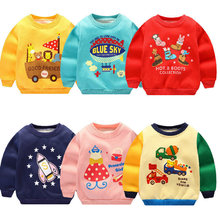 Baby Hoodies Tshirt Long-Sleeve Tops Blouse Toddler for Christmas-Clothing New-Year