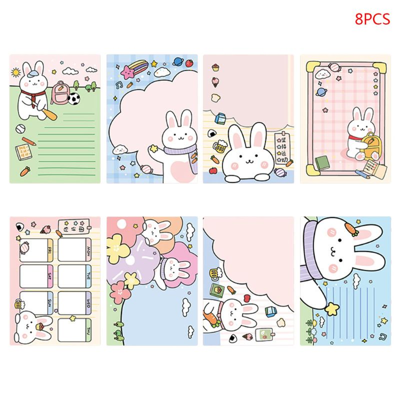 AVA Ghost Sticky Tabs Memo Pad Sticky Notepaper Note Sticker Office School Supplies