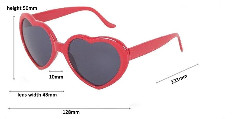 NEUE Ankunft scherzt reizende Herz-Formgläser UV400 - Bekleidungszubehör - Foto 5