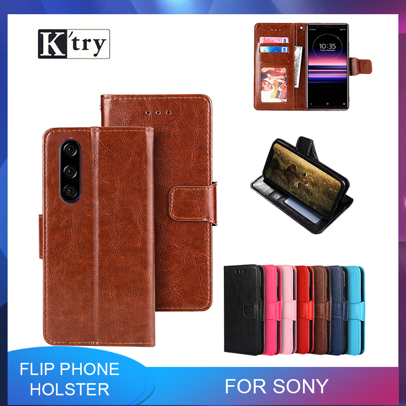 Flip <font><b>Case</b></font> For <font><b>Sony</b></font> <font><b>Xperia</b></font> <font><b>10</b></font> L1 L2 L3 X XA XA1 Plus XA2 XA3 Ultra XZ XZ1 Compact XZ2 Premium XZ3 XZ4 Leather Wallet <font><b>Cover</b></font> image