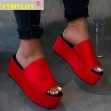 Big Size 35-43 Brand New Luxury Ladies Colorful Wedges Gladiator Sandal