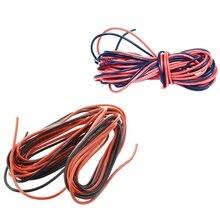 2X3 м 26 Калибр и 20 Калибр Awg силиконовый резиновый провод кабель красный черный гибкий(2 комплекта
