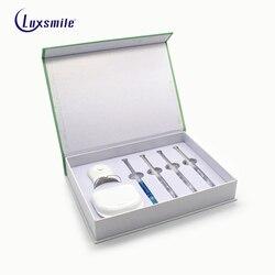 Kit blanqueador de dientes Luxsmile superventas Material Dental 2018 protector bucal blanqueador de dientes sonrisa hermosa Envío Directo