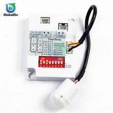 цена на 8-30V Indoor Outdoor Infrared Light Motion Sensor Time Delay Home Lighting PIR Switch Led Night Lamp