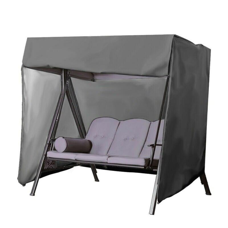Couvertures tout usage portatives extérieures de hamac de jardin de couverture supérieure d'oscillation de Patio Anti-UV imperméable Anti-poussière