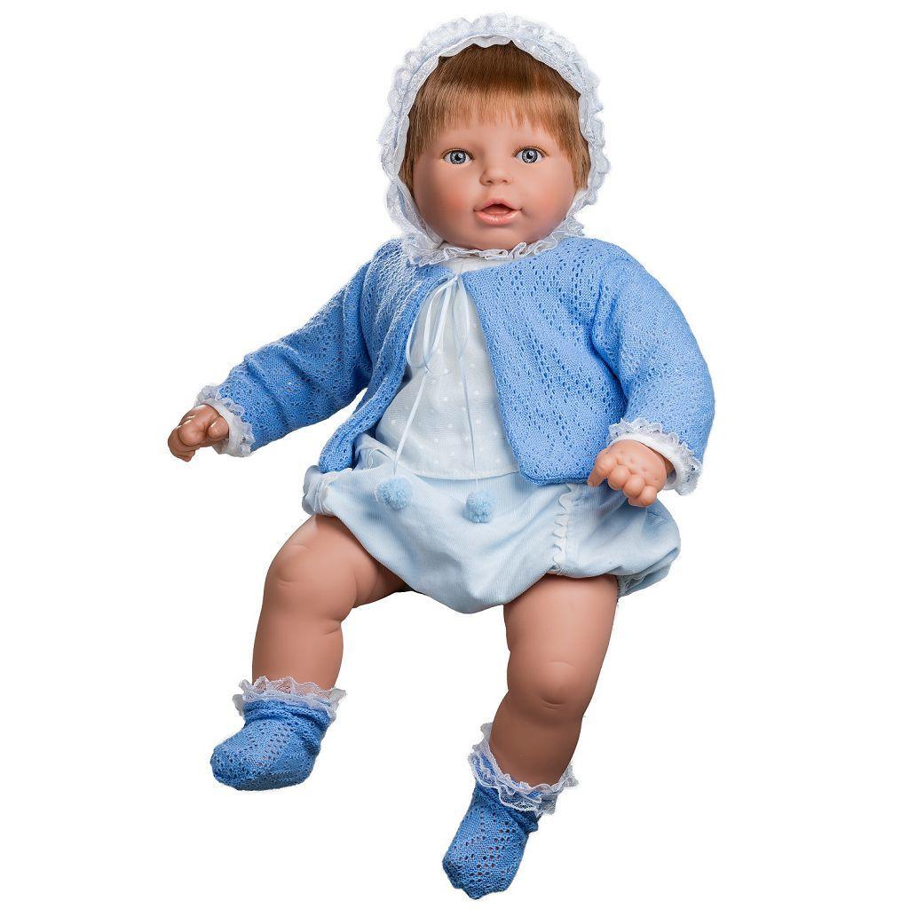 Кукла BERJUAN мягконабивная 60см Mi Nene Nino в пакете (30073K)