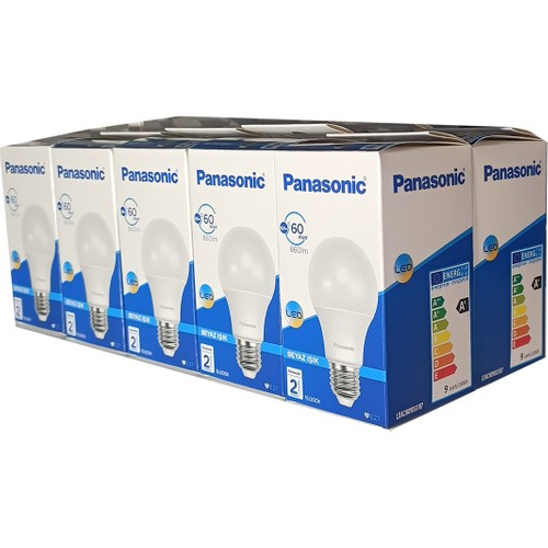 Panasonic 8.5 W - 60 W 10'lu LED Bulb E-27 Lamp Holder White Light