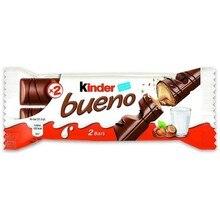 Kinder good Pack of 2 bars, 43 grams brand ferrero rocher