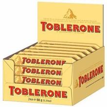 TOBLERONE 50 gr box of 24 units