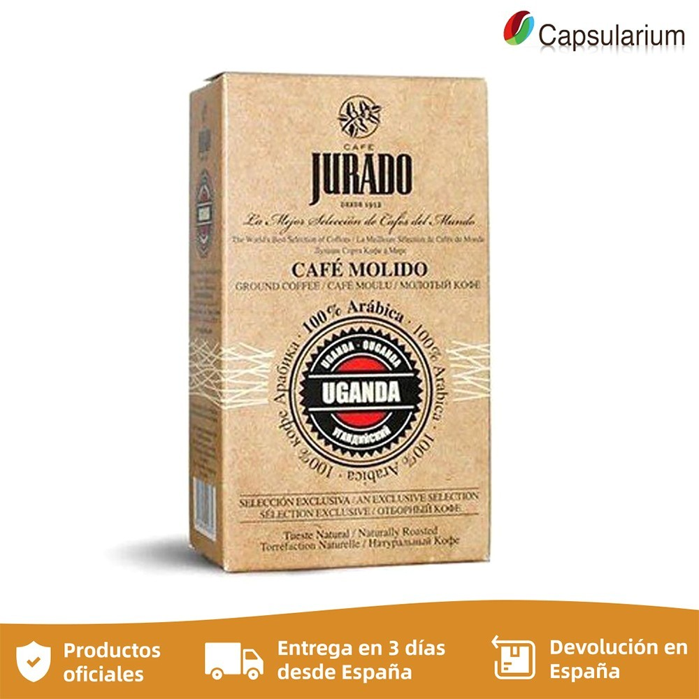 Ground coffee, coffee beans from the world, Uganda, jury coffees, 250 gr.