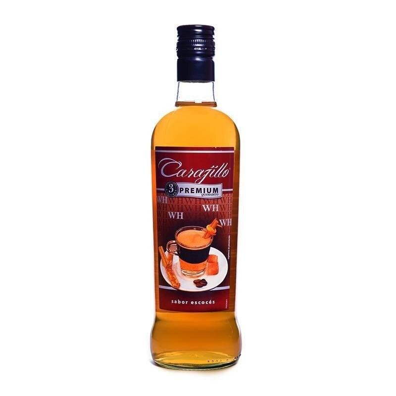 3 colors Premium whiskey card, 70cl bottle