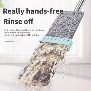 Strona główna mycie rąk bezpłatny Mop płaski Mop mokry suchy Mop Mop do czyszczenia podłogi Mop z mikrofibry podkładki mokre suche użycie na twardym laminacie tanie i dobre opinie CN (pochodzenie) Nici bawełniane 10-20 sekund Jedna głowica NONE Z 1 głowicą do mopa 40 -50 300 ml Przesuwne Kij ogólnego zastosowania + plastikowa podkładka