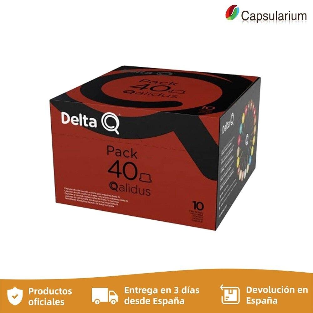 Qalidus Pack, Espresso intensity 10, 40 Delta Q capsules