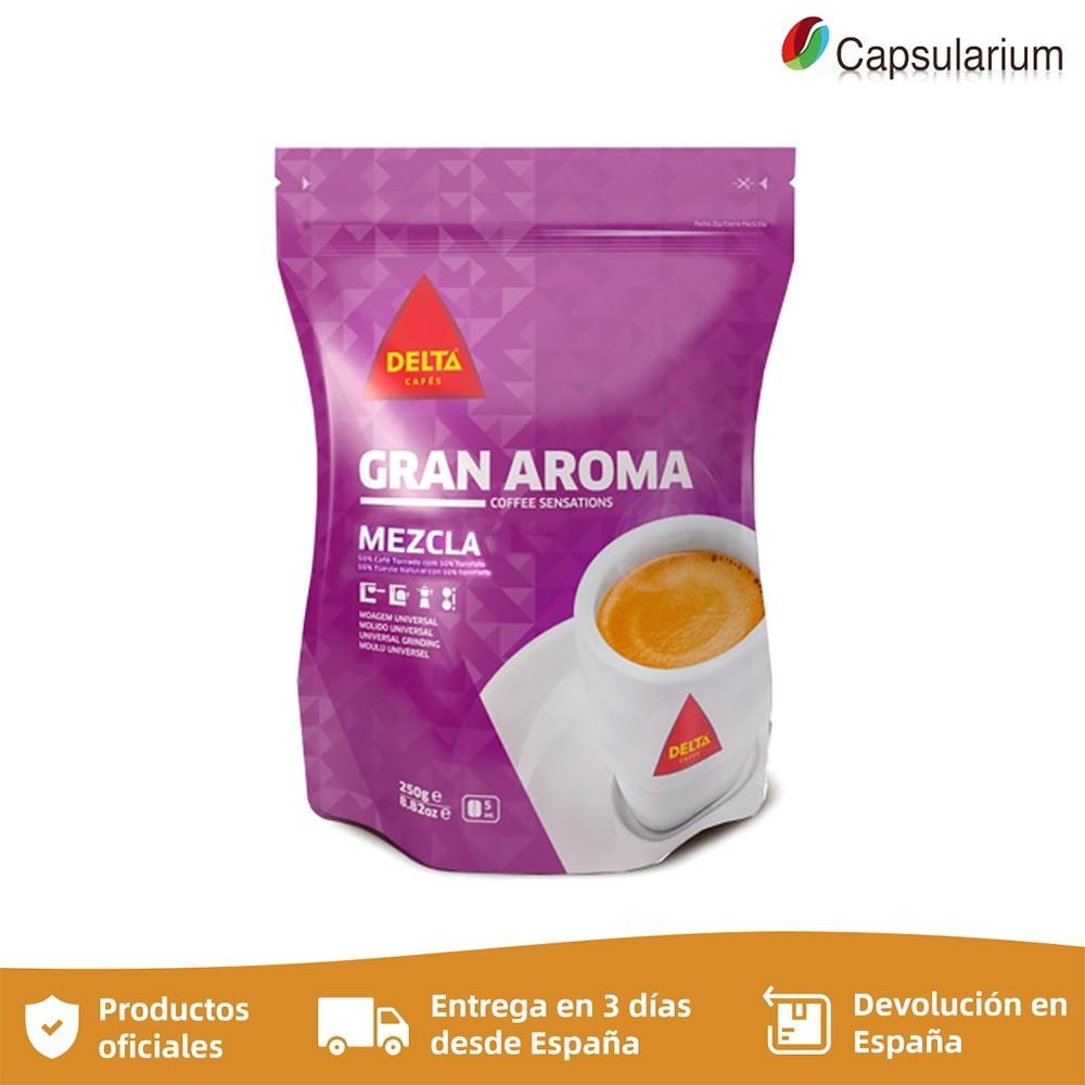 Coffee great Aroma blend, 250g coffee ground DELTA