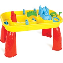 Kids Sand And Water Table  Play Toddler Outdoor Cover Step Activity  Accessories Sandbox Set Child Ships From Made In Turkey