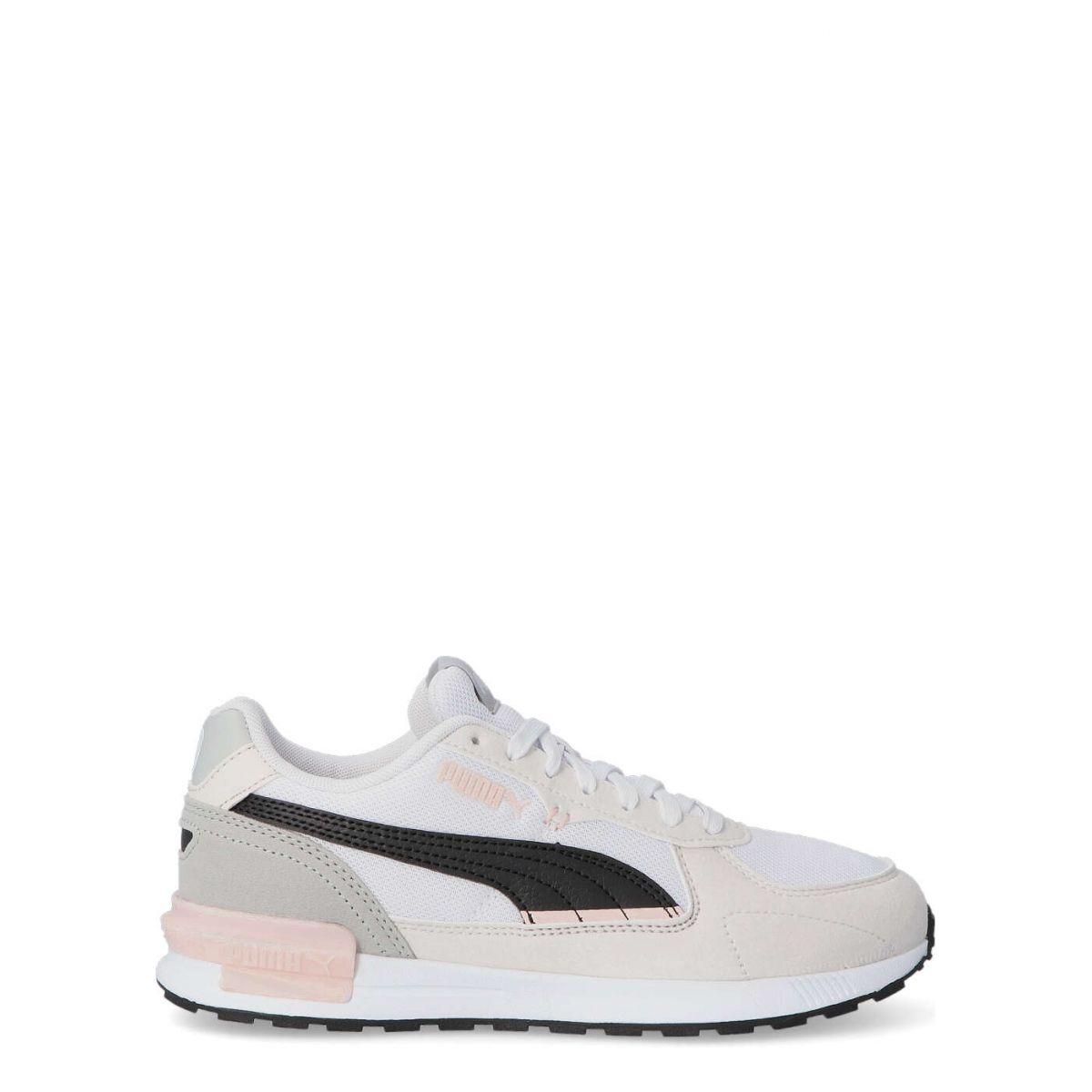 PUMA Sneakers Casual Cómodo De Mujer PUM 380738 BLANCO