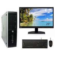 HP Elite 8300 SFF ORDENADOR DE SOBREMESA COMPLETO BARATO i7 - 3770 3.4GHz | 8GB RAM | 500HDD| DVD | WIFI | WIN 10 PRO +TFT 23