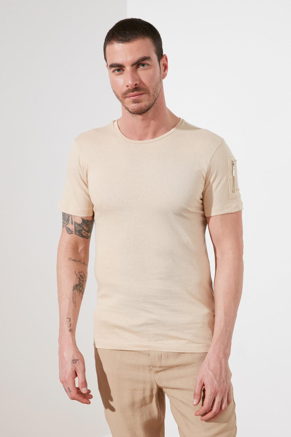 Trendyol Male T-Shirt TMNSS20TS0968 Men