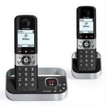 Wireless Phone Alcatel Versatis F890 DUO DECT Black/Silver
