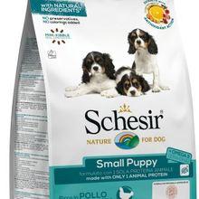 Schesir Small Puppy com Frango