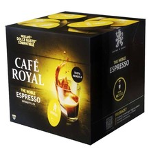 Espresso coffee Royal, 16 capsules for Dolce taste in protective atmosphere