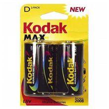 Pile alcaline Kodak LR20 1,5 V (2 pièces)