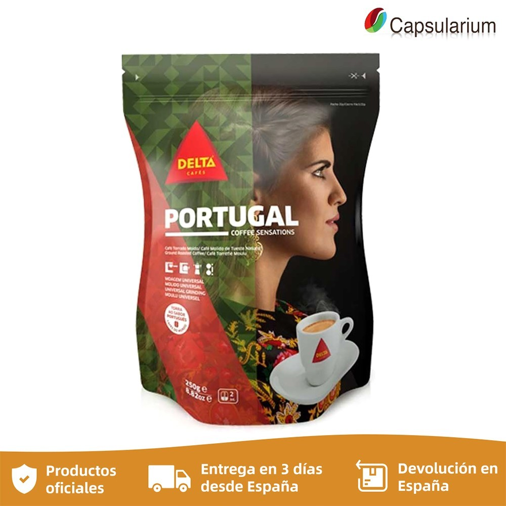 Cafe Portugal, 250g ground coffee DELTA