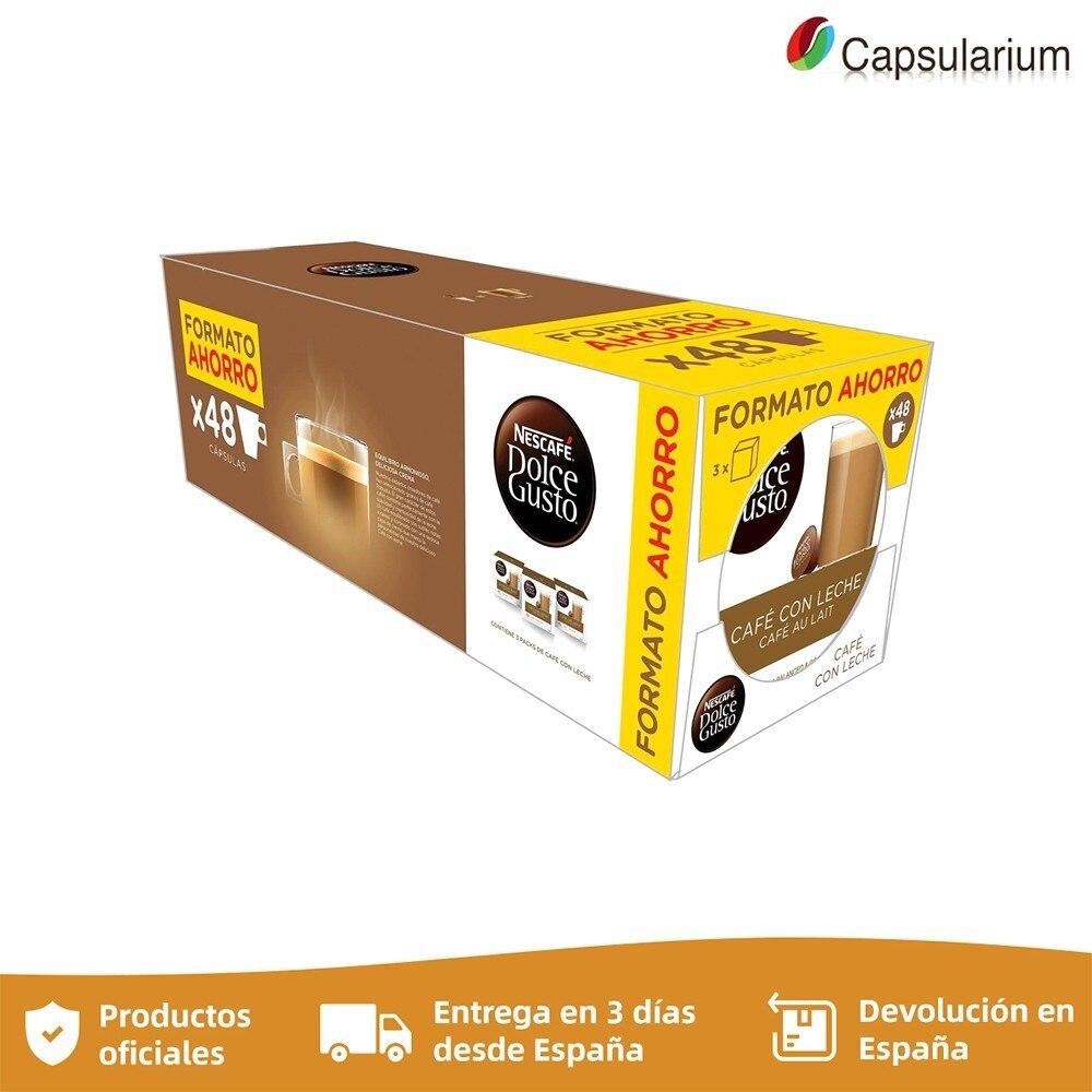 Pack 3 Milk CAFE save format DOLCE GUSTO