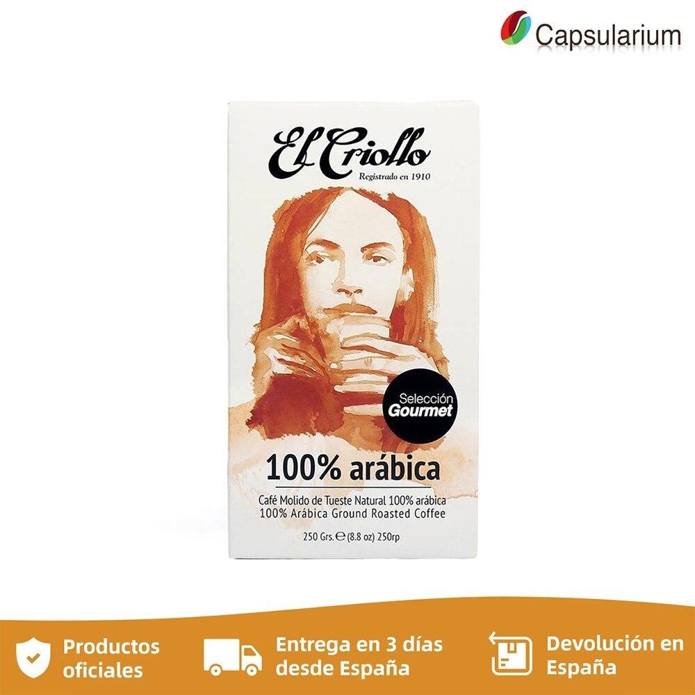 Cafe El Creole GOURMET 100% Arabica, 250g ground coffee