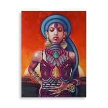 Painting Etnic 5 (2,8 x 90 x 120 cm)