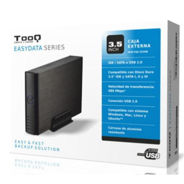 Внешняя коробка TooQ TQE-3520B HD 3,5