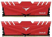 TEAMGROUP T-Force Dark Z - Módulo de memoria RAM de 16 GB (2 x 8 GB) DDR4 Dram 3600 MHz (PC4-28800) CL18 de 288 pines (