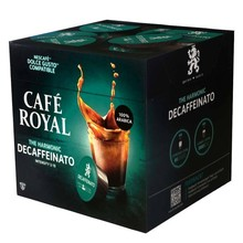 Decaffeinated coffee Royal, 16 capsules for Dolce taste in protective atmosphere