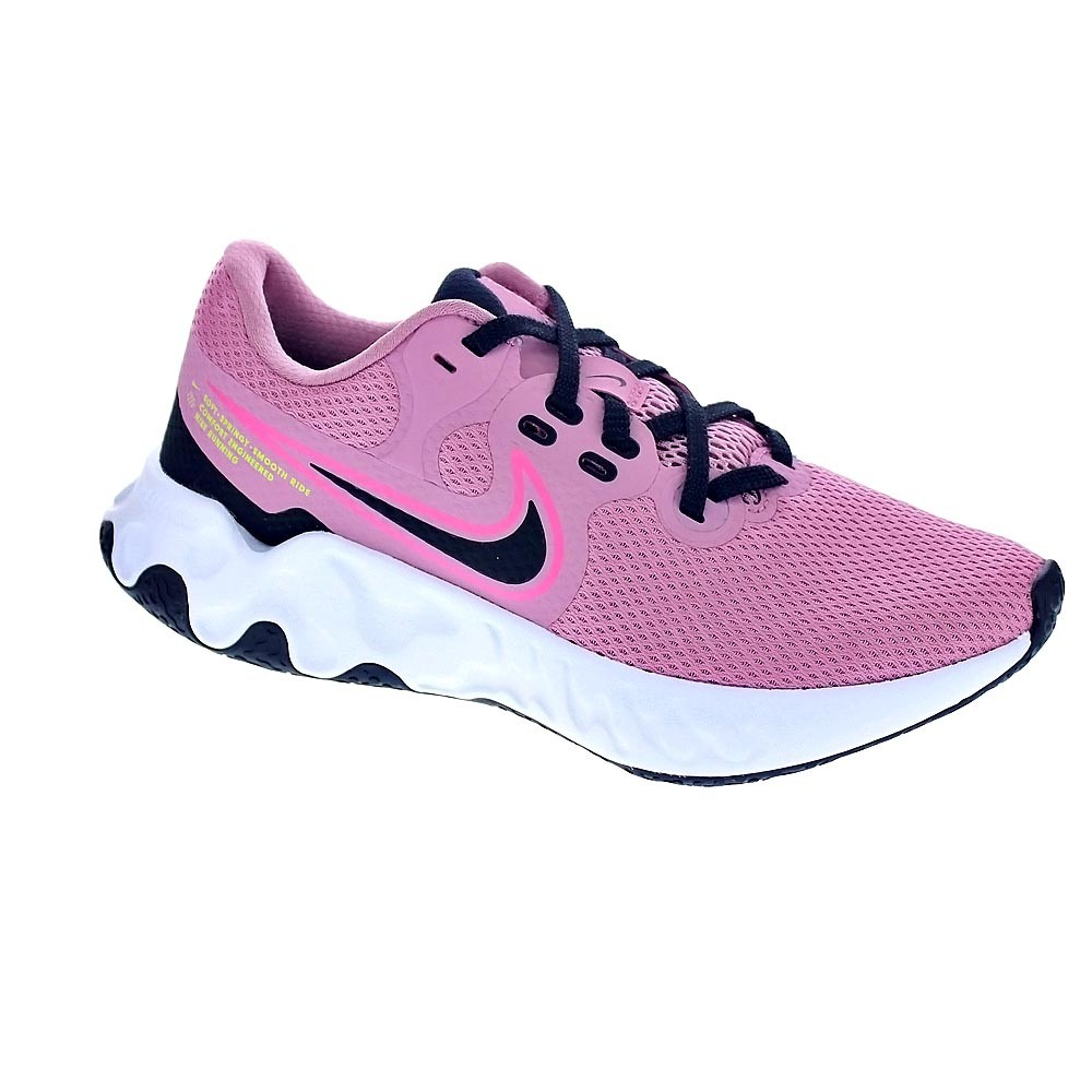 Nike Mujer Zapatillas Bajas Modelo Renew Ride Deportivas Urbanas Color Rosa Moda Mujer Zapatos Originales