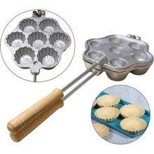 Tartolet Casting Cookie Mold Granite Coating Model Kanom Krok Coconut Cake Mold Maker