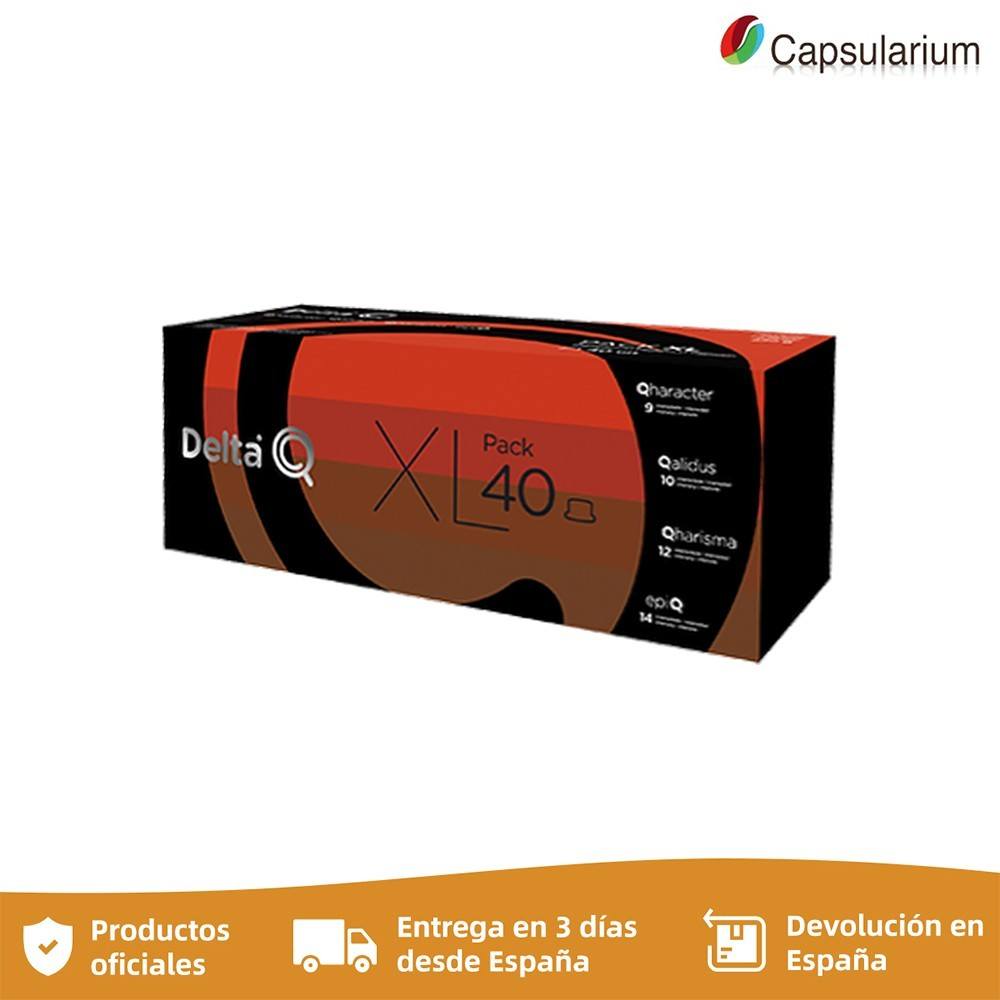 Pack 40 XL Intensidade 10 Qharacter 10 Qharisma 10 Qalidus 10 Epiq