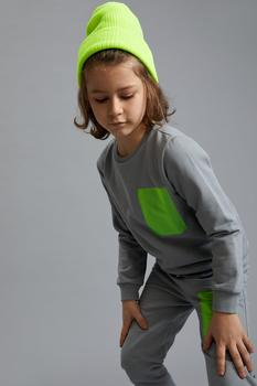 DeFacto wiosna chłopiec bluzy bluza sportowy wygląd Dailywear z długim rękawem ciepły Casual nowy Season-S9782A621SP tanie i dobre opinie TR (pochodzenie) dostępna Drukuj Chłopcy Aktywne COTTON
