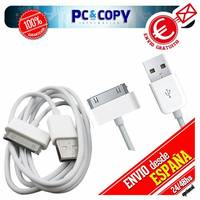 Pack 2 cables USB datos y carga para iPhone 4S 4 3GS 3G iPod touch iPad 2 1M A++
