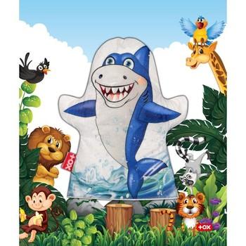 Tox 1 sztuka pacynka dzikie zwierzęta rekin czuł pacynka rozwój i edukacja dziecka figurka zabawka zabawki edukacyjne tanie i dobre opinie