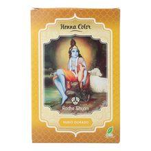 Radhe shyam henna en polvo rubio dorado 100g