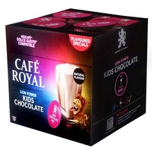 Kids Chocolate coffee Royal, 16 capsules for Dolce taste in protective atmosphere