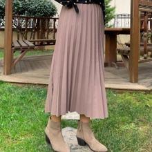 Women Mink Mira piliseli Skirts Women Muslim Clothing Skirt 2021 Fashion