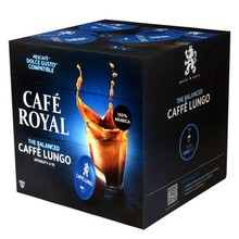 Cafe lungo Cafe Royal, 16 capsules for Dolce taste in protective atmosphere