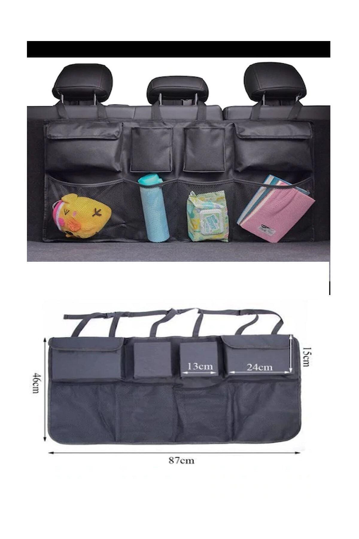 Car Baggage Organizer Car Luggage Organizer 8 60pockets Clear Accessory