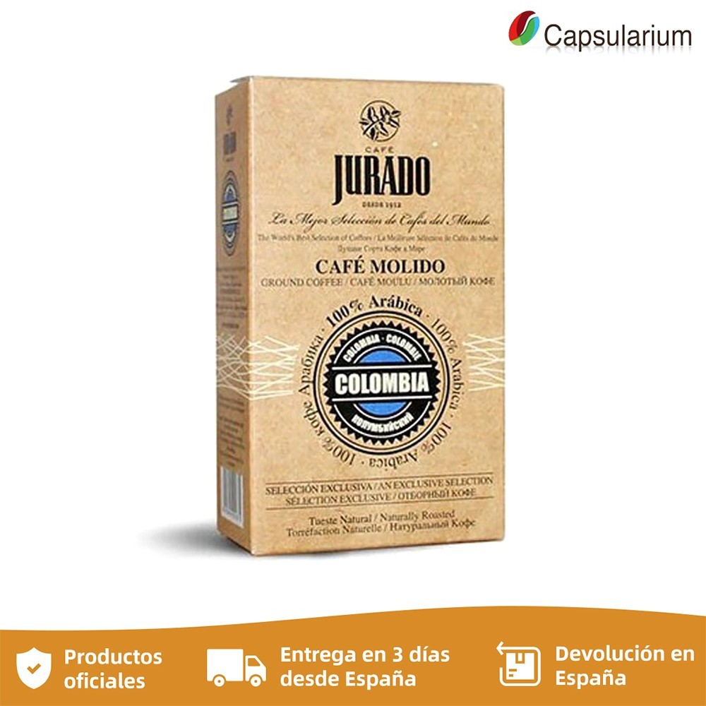 Colombia ground coffee, coffee beans from the world, sworn coffees, 250 gr.