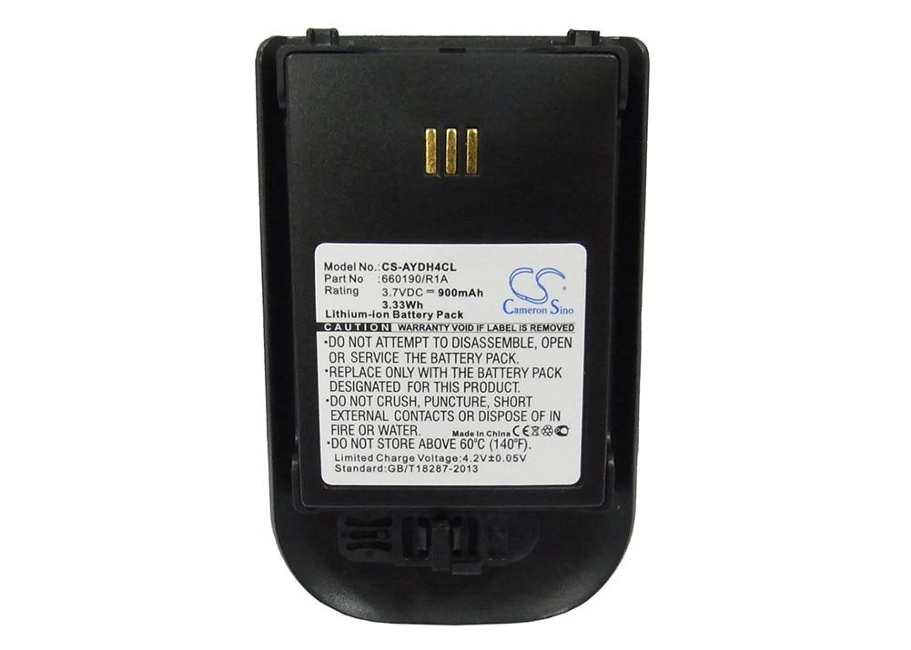 Кэмерон китайско 900mA Батарея для Alcatel Работает с любым оператором, omnitouch 8118,omnitouch 8128 0480468,3BN78404AA,WH1-EABA/1A1