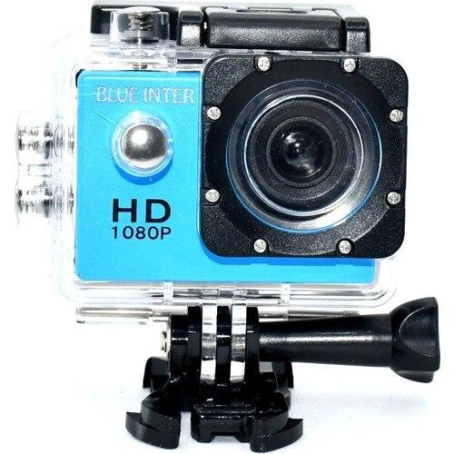Blue Inter Lumi-Sports 140 ° Full Hd 1080P Водонепроницаемая Экшн-камера