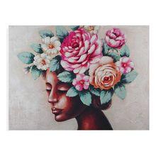 Painting Canvas (2,8 x 90 x 120 cm) Flowers
