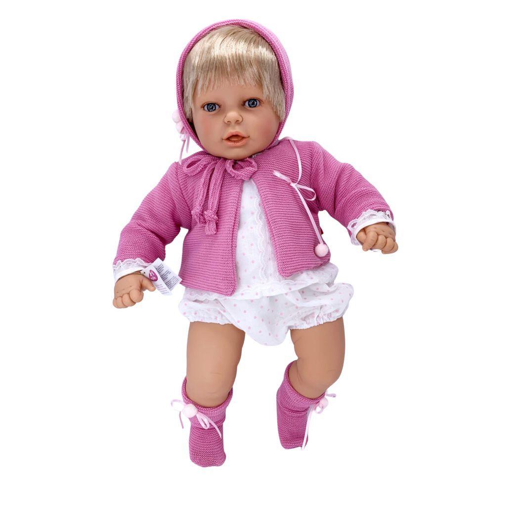 Кукла BERJUAN мягконабивная 60см Mi Nene Nina (30075)