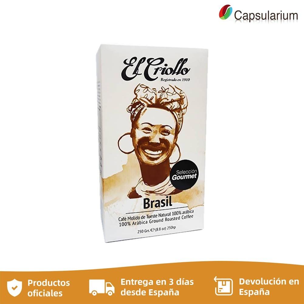 Cafe El criollo BRASIL , 250g ground coffee selection Gourmet